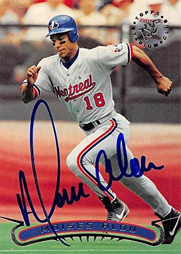 Moises Alou autographed baseball card (Montreal Expos, SC) 1996 Topps Stadium Club #138 - Baseball Slabbed Autographed Cards ()