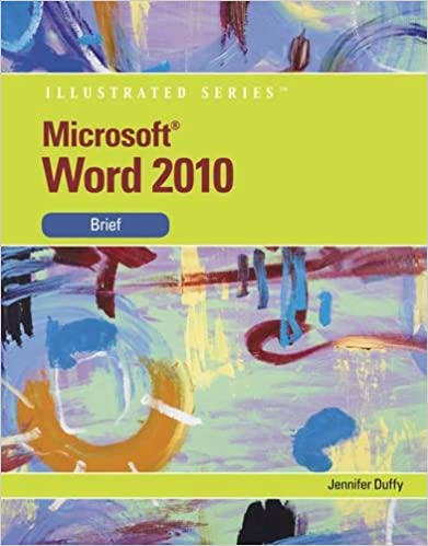 Microsoft Word 2010 Illustrated Brief Available Titles Skills
