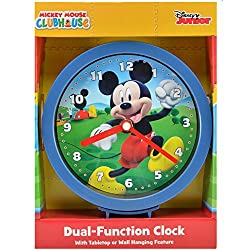 Mickey Mouse Clubhouse 6 Wall or Desk Clock