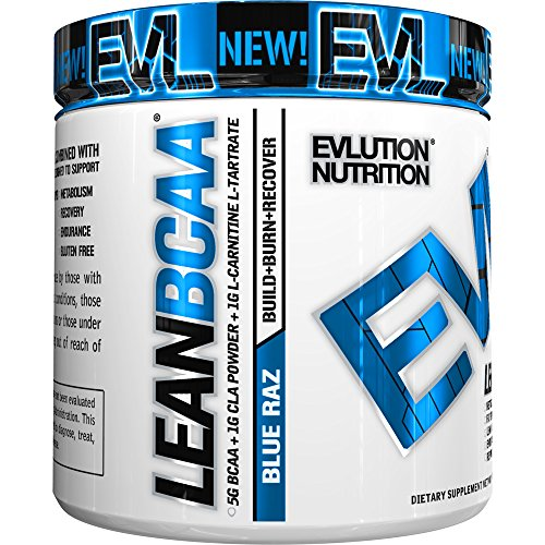 Evlution Nutrition EVL LeanBCAA Powder, 30 Servings (9.4 Oz)