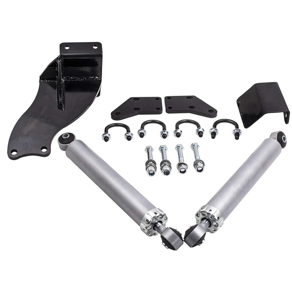 Dual Steering Stabilizer for Dodge Ram 2500 3500 2013-2018 4WD