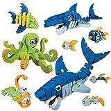 Bloco Toys Marine Creatures Scholastic Set