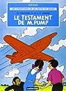 Jo Zette et Jocko, tome 1 : Le Testament de Monsieur Pump par Hergé