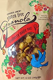 Trader Joe\'s Gluten Free Granola Loaded Fruit and Nut, 2 Packs