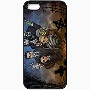 Personalized iPhone 5 5S Cell phone Case/Cover Skin Addams Family Black