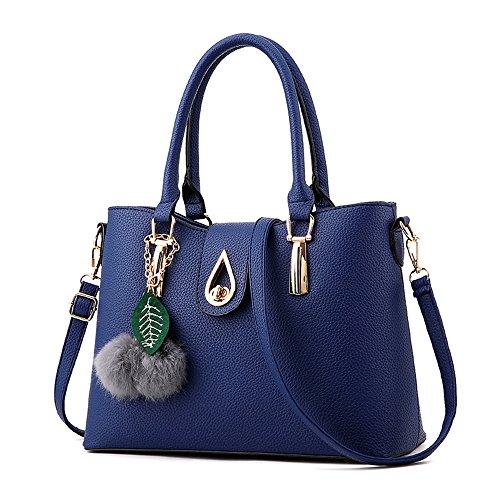 De Xiekua Blue Gris Sencilla Nueva Bolso Bolsos Pelos Package Bolsa Moda Y Meaeo Bola Tendencia CFqwA1n