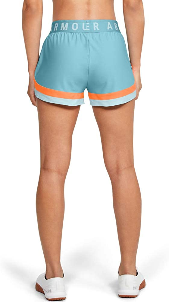 Under Armour Womens Play Up 3.0 Novelty Workout Gym Shorts