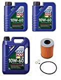7 Liter 10W60 Synthetic Liqui Moly Engine motor Oil + 1 Filter kit BMW Z4 M3