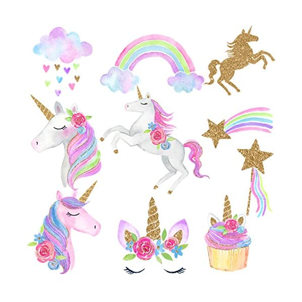 30 Ct Unicorn Hanging Swirl Decorations-Unicorn Party Decorations-Unicorn Birthday Party Supplies 4