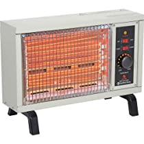 Comfort Zone Electric Radiant Heater CZ550 1250 / 1500W 5120 BTU
