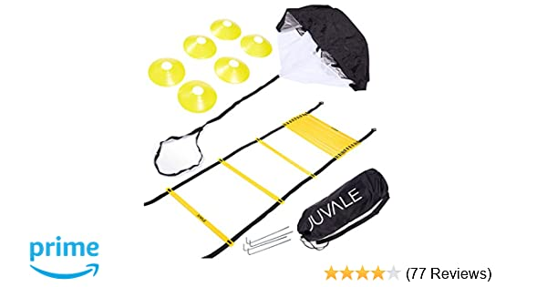 96e5ae089 Amazon.com   Juvale Speed and Agility Training Set - Includes ...