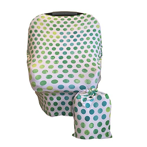 Multi-Use Nursing, Baby Car Seat, Stroller, Shopping Cart & High Chair Cover - - Nursing Dots Hot Cover
