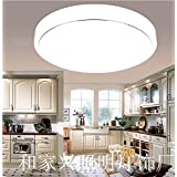 Modern and minimalist acrylic high edge wireless LED Ceiling lamp lights light Living Room Balconies bedroom aisle ,260mm Lighting Fixture