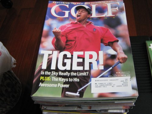 Golf Magazine (TIGER WOODS , TIGER ! , Is The SAky really The Limit ? , The Keys To His Awsome Power, November 1996)