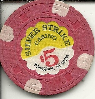 $5 silver strike casino chip tonopah nevada -