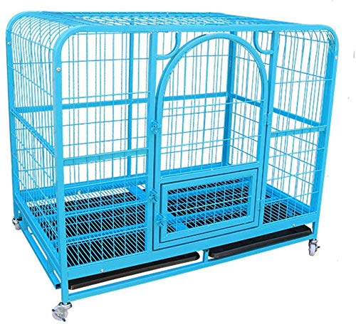 KKLLL Jaula de Transporte de Metal para Puertas, Jaula para Perros ...