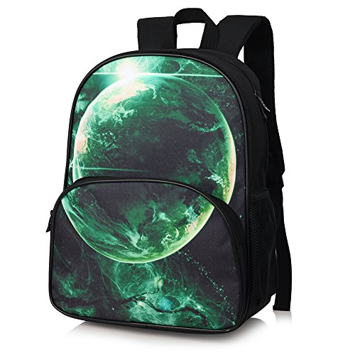 408317f605 Expired Vbiger School Backpacks Laptop Backpack 14 Inch Waterproof for Kids  (Galaxy Green)