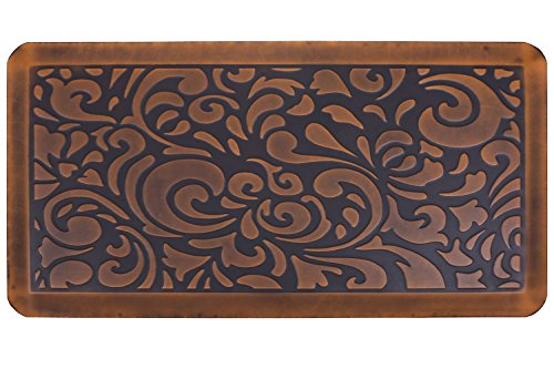 (Butterfly Kitchen Mat Anti Fatigue Comfort Floor Mats - Perfect For kitchen and Standing Desks, Non-Toxic, Material, Waterproof, 20 x 39 inches, Light.Antique)