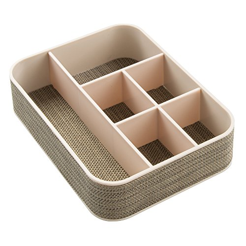 InterDesign Twillo Dresser Organizer Tray for Eyeglasses,