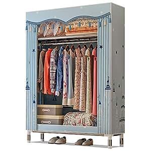 Portable Fabric Wardrobe Closet Clothes Storage Organizer
