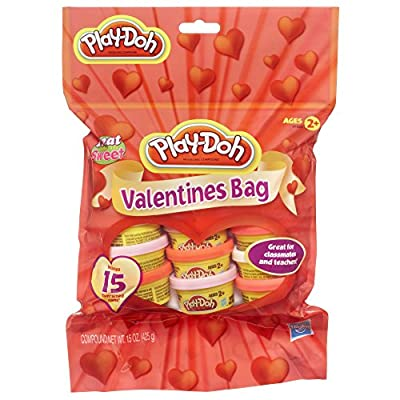Play-Doh Valentines Bag Dough: Toys & Games