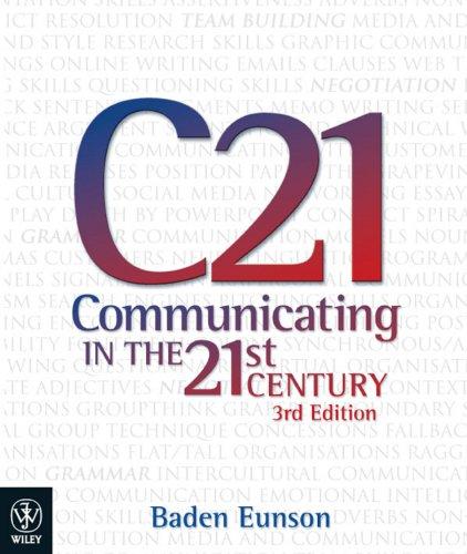 Communicating in the 21st Century (Open University: Modern Art - Practices & Debates)