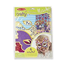 Melissa & Doug Simply Crafty Marvelous Masks Activity Kit (Makes 4 Masks)