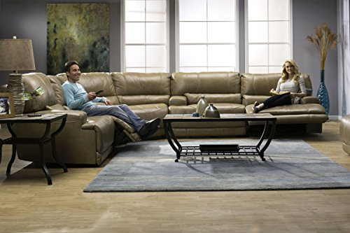Review Hamlin Power Reclining Leather
