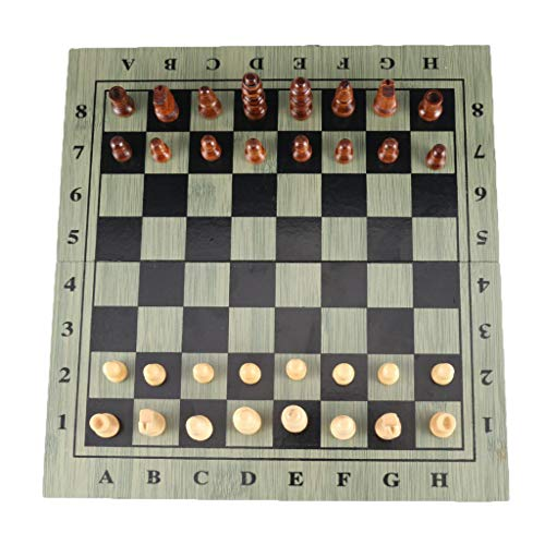 """perfektchoice 29cm/11.4"""" Portable Magnetic Chess Set, Foldable Classic Board Games for Kids Boys Girls Teens Adults, Travel Party Activities Supplies"""