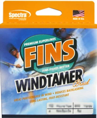 Fins Spectra 1500-Yards Windtamer Fishing Line