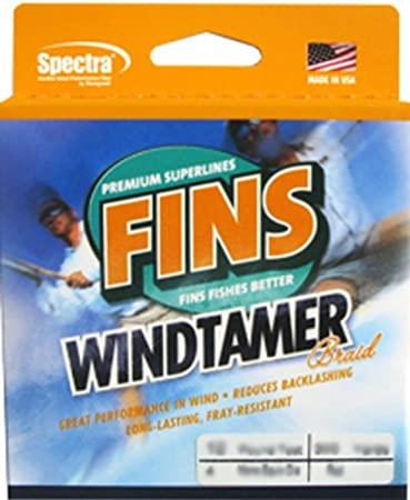 Fins Windtamer Spectra Braided Fishing Line 2000 Yards-pick your color//line test
