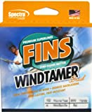 Fins Spectra 1500-Yards Windtamer Fishing Line, Yellow, 15-Pound