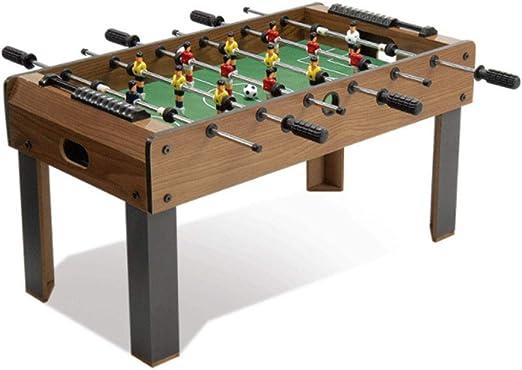 Mesa de futbolín de mesa portátil Mini Futbolín Juego de fútbol Juego Puntuación Guardián for los