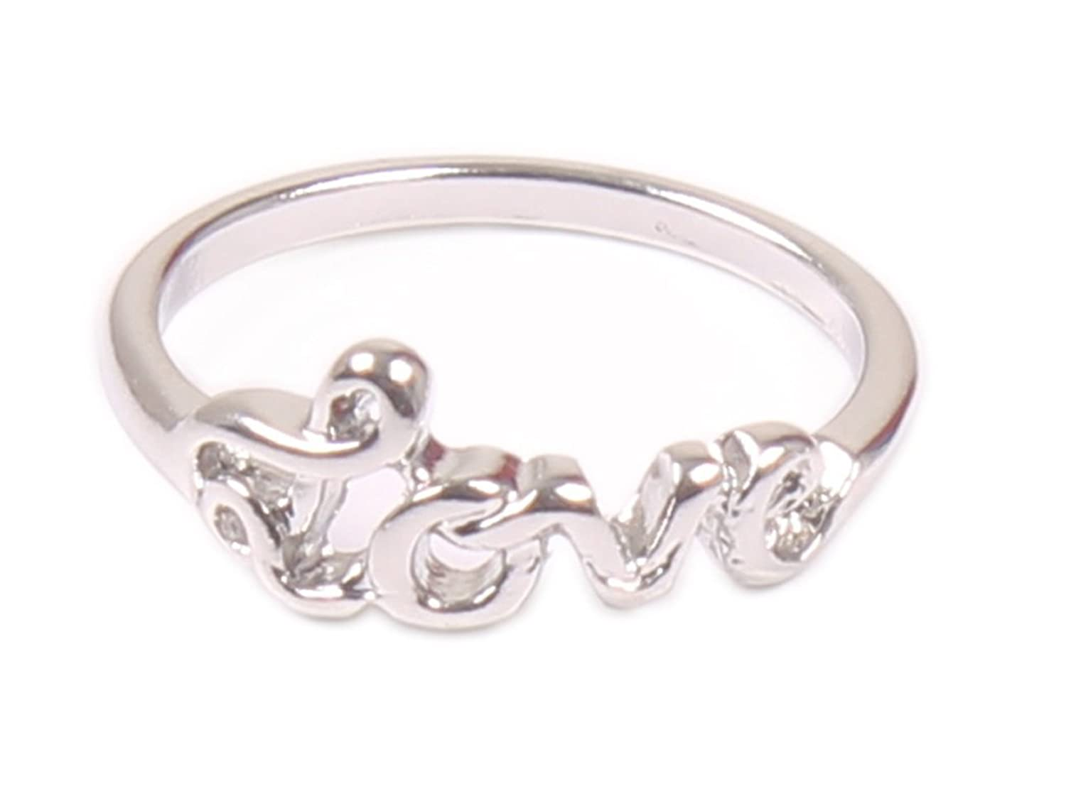 Access-O-Risingg Silver Metal Ring For Girls: Amazon.in: Jewellery