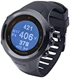 Voice Caddie T2 Hybrid Golf GPS Rangefinder Watch, Black
