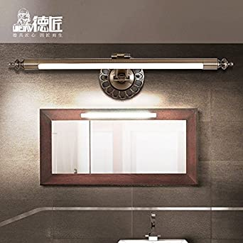 TYDXSD Amerikanische Spiegel Lampe Bad Badezimmer Spiegel ...
