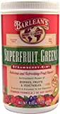 Barlean's Superfruit Greens Powder Formula Strawberry Kiwi -- 9.52 oz - 3PC