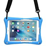 Acer Iconia Tab 10 A3-A30 case, [Cross Compatible Shoulder Strap Rugged Case] COOPER TROOPER 2K Protective Heavy Duty Carry Cover Stand, Drop Shock Proof, Kids Adults (Blue)