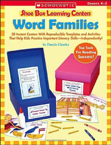 Word Families (Shoe Box Learning Centers)