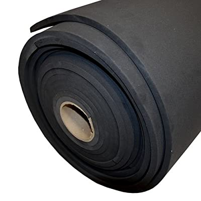 "Sponge Neoprene 1/4"" Thick X 54"" Wide X 2'"