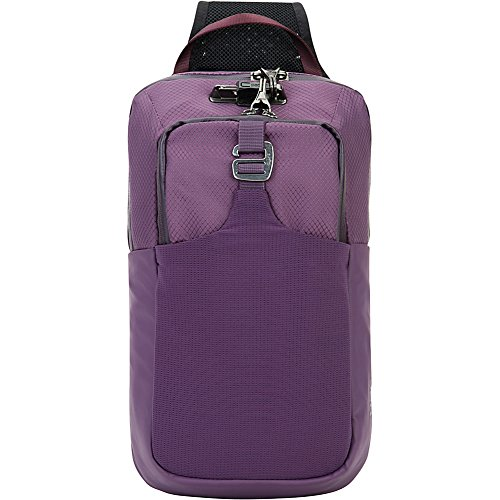 Pacsafe Unisex Venturesafe X Anti-Theft Sling Pack Plum One Size