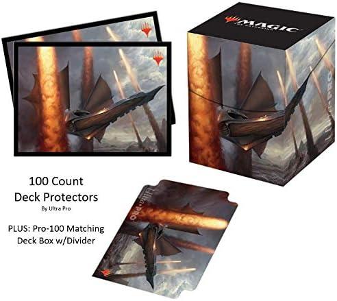 Ultra Pro Ultimate Masters V5 - Fundas Protectoras para mazos de Asalto sísmico (100 Unidades, con Caja de Cubierta y Separador a Juego): Amazon.es: Juguetes y juegos