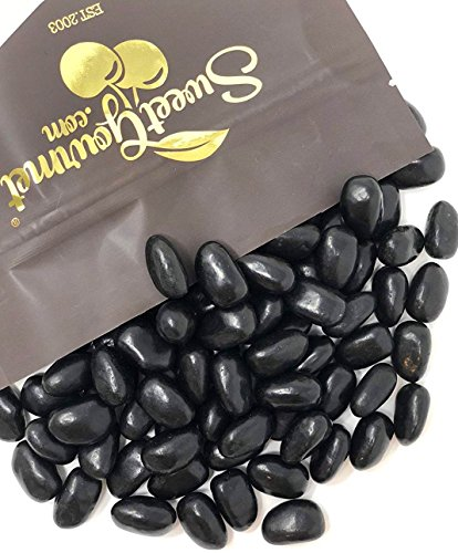 Black Jelly Beans Eggs - Licorice Flavor jelly beans bulk ca