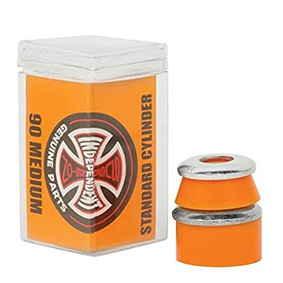 INDEPENDENT TRUCK BUSHINGS Standard Cylinder Cushions Medium 90a ORN Skateboard by Independent