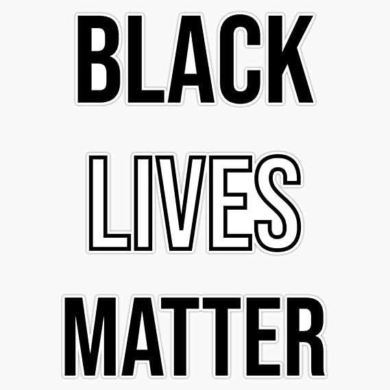 Listen to Black Educators Black Lives Matter Vinyl Sticker