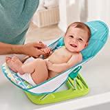 Summer Deluxe Baby Bather, Triangle Stripe
