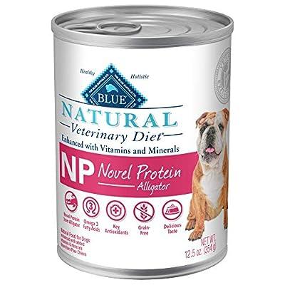 Blue Buffalo Natural Veterinary Diet Novel Protein-Alligator for Dogs 12.5oz