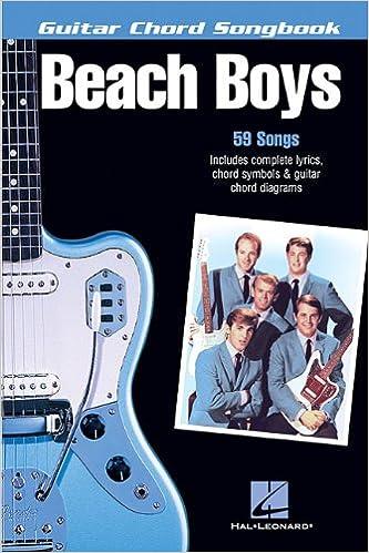 Amazon The Beach Boys Guitar Chord Songbook 6 Inch X 9 Inch
