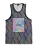 INTO THE AM I Used To Sleep Men's All Over Print Sleeveless Tank Top Shirt
