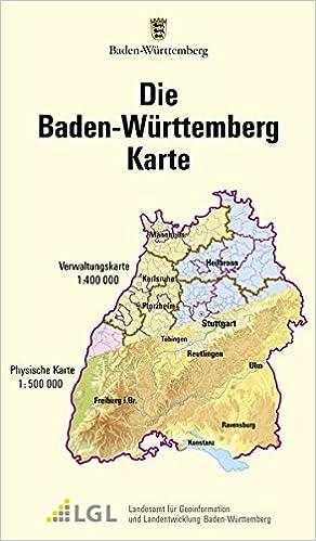 Baden Württemberg Karte.Die Baden Württemberg Karte Gemeinde Und Kreiskarten Physische